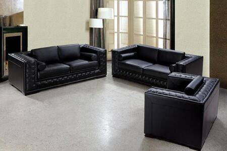 VIG Furniture VG2T0697 Modern Leather Living Room Set