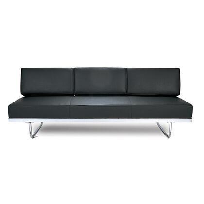 Fine Mod Imports FMI3000 Flat Lc5 Leather Sofa Bed: