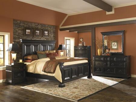 Pulaski 99318017CKSET Brookfield California King Bedroom Set