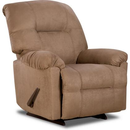 Flash Furniture AM93502600GG Contemporary Calcutta Series Contemporary Microfiber Wood Frame Rocking Recliners