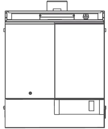 """Southbend P32DH Platinum Series 32"""" Combination Top with One Hot Top and One Griddle, Up to 80000 BTUs (NG)/72000 BTUs (LP), Standard Oven Base"""