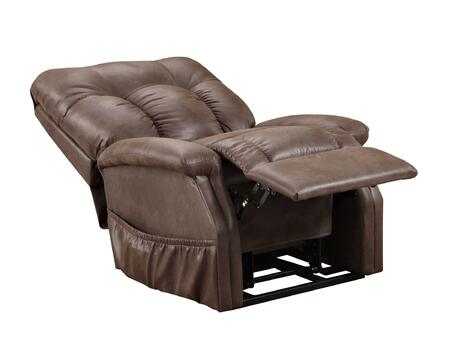 MedLift 5153STCH Contemporary Vinyl Fabric Wood Frame  Recliners