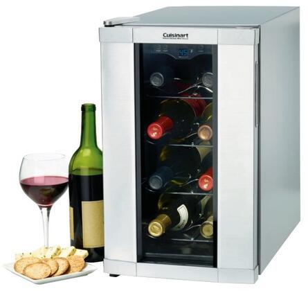 """Cuisinart CWC800 10.4""""  Freestanding Wine Cooler"""