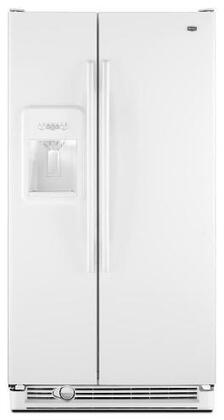 Maytag MSD2273VEW  Side by Side Refrigerator with 21.8 cu. ft. Capacity in White
