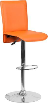 Flash Furniture CHTC31206ORGG Residential Vinyl Upholstered Bar Stool