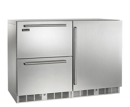 Perlick HP48RRS51R Signature Series Counter Depth Side by Side Refrigerator with 12.0 cu. ft. Capacity