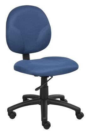 "Boss B9090 34"" Diamond Task Chair with Contoured Back and Seat, Extra Large Seat and Back Cushions, and Pneumatic Gas Lift Seat Height Adjustment"