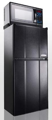 """MicroFridge 48MF9TP 19""""  Compact Refrigerator with 4.8 cu.ft. Capacity in Black"""