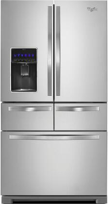 Whirlpool WRV976FDEM 36 Inch French Door Refrigerator, in Stainless on