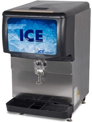Ice-O-Matic IOD2 Ice Only or Water/Ice Dispenser with  of Ice Storage Capacity, Worry-Free Dispensing, Power Clean, Maximum Ice Storage and Auto Rotate