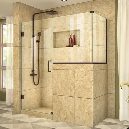 UnidoorPlus Shower Door 39 30D 30BP 30RP 06