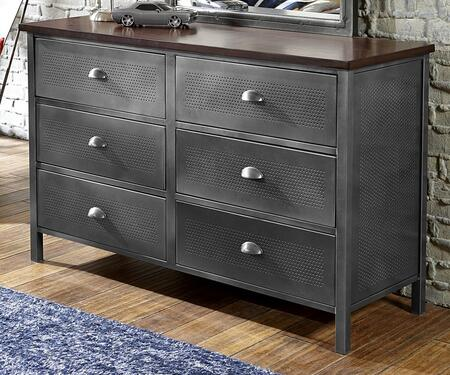 Hillsdale Furniture 1265717R Urban Quarters Series Metal Dresser