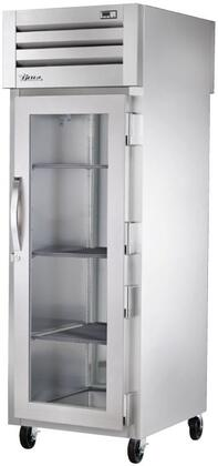 True STG1HPT Spec Series Pass-Thru Heated Holding Cabinet with 31 Cu. Ft. Capacity, Low-Velocity Fans, and Swing-Doors