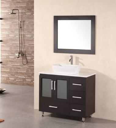 Design Element B36VS Single Vanity Sink