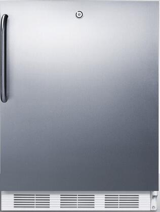 """AccuCold FF6LxADA 32"""" ADA Compliant Medical Freestanding Compact Refrigerator with 5.5 cu. ft. Capacity, Door Lock, Crisper, Interior Lighting and Automatic Defrost:"""