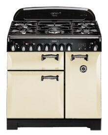 "AGA ALEG36DFCRM 36"" Legacy Series Dual Fuel Freestanding Range with Sealed Burner Cooktop, 2.2 cu. ft. Primary Oven Capacity,"