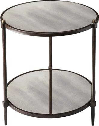 Butler 3048025 Metalworks Series Transitional Round End Table