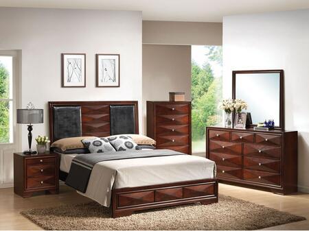 Acme Furniture 21917EK4PCSET Windsor King Bedroom Sets
