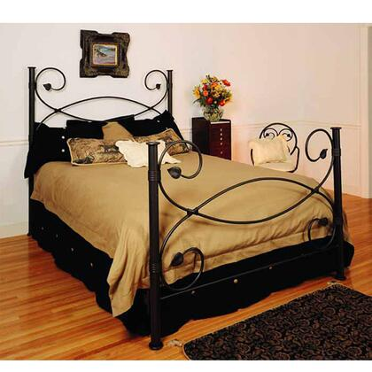 Stone County Ironworks 900698ACNA Castanea Series  Twin Size Poster Bed