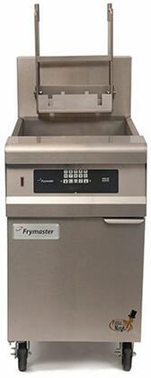 "Frymaster GPCB 20"" Pasta Magic Series Commercial Gas Pasta Cooker with 80000 BTU, 15 Gallon Capacity, OverFlow Drain, Infrared Burners, Timer Controller and Auto Timed Basket Lifts, in Stainless Steel"