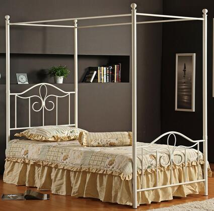 Hillsdale Furniture 1354BFPR Westfield Series  Full Size Canopy Bed