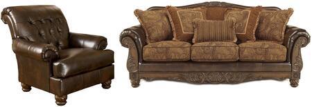Milo Italia MI5142SCANTQ Zackery Living Room Sets