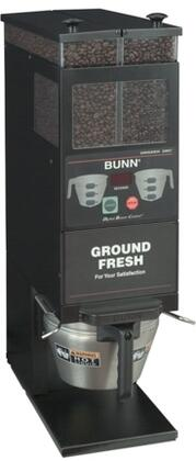 Bunn-O-Matic 33700.000x G9-2T DBC CLR Portion Control Coffee Grinder With 2 Hoppers, Smart Funnel, Dual Soft Heat, in