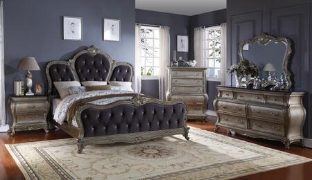 Meridian ROMAKDMCN Roma King Bedroom Sets