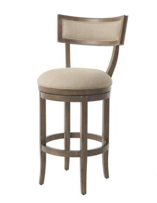 Pastel Furniture QLCK225 Clarksville Bar Height Swivel Barstool in Tan