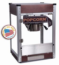 Paragon 11048x0 Cineplex 4-Oz. Popcorn Machine with Built-In Warming Deck