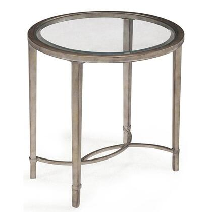 Magnussen T211407 Copia Series Transitional Oval End Table