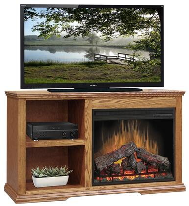 Legends Furniture CP5105GDO Colonial Place Series  Fireplace