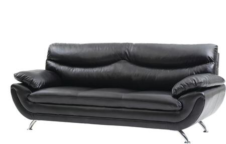 Glory Furniture G431S  Stationary Faux Leather Sofa
