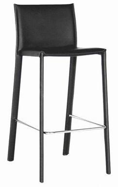 Wholesale Interiors ALC-1822A-75 X Leather Bar Stool