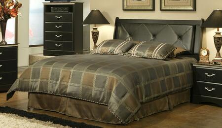 Sandberg 403EE La Jolla Morena Series  Full Size Sleigh Bed