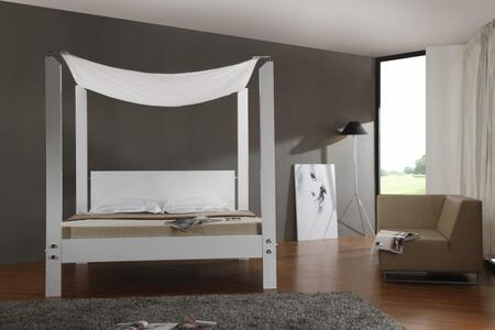 VIG Furniture LIASBEDK  King Size Canopy Bed