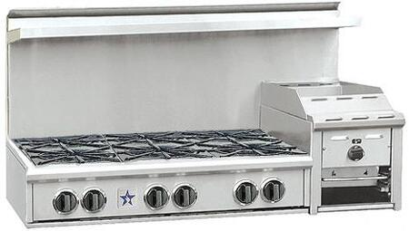 BlueStar RGTNB486GHCSS  Gas Open Burner Style Cooktop
