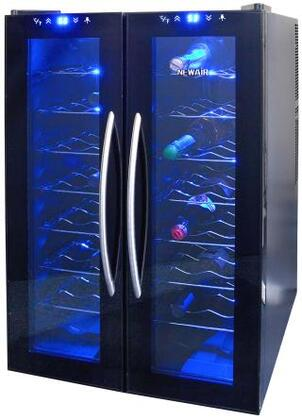 "NewAir AW320ED 21.5"" Freestanding Wine Cooler, in Black"