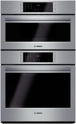 "Bosch HBL8751UC 30"" Single Wall Oven, in Stainless Steel"