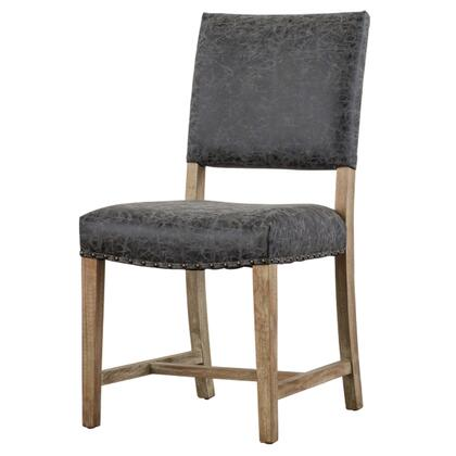 New Pacific Direct Template: Arthur Collection 3900033-NCE PU Chair in Nubuck Chocolate