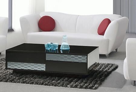 Chintaly DALTONSFA Dalton Series Stationary Bonded Leather Sofa