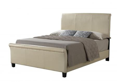 Glory Furniture G2755FBUP G2700 Series  Full Size Sleigh Bed