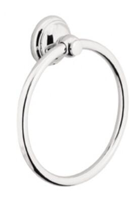 Hansgrohe 06095 Solid Brass Towel Ring: