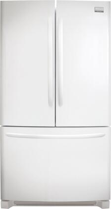 Frigidaire FGHN2844LP Gallery Series  French Door Refrigerator with 27.8 cu. ft. Total Capacity 4 Glass Shelves