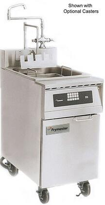 """Frymaster 17C- 20"""" Pasta Magic Series Commercial Gas Pasta Cooker with 17 kw Electrical Input, 19.5 Gallon Capacity, Programmable Timer Controller and Swing Hot/Cold Faucet, in Stainless Steel"""
