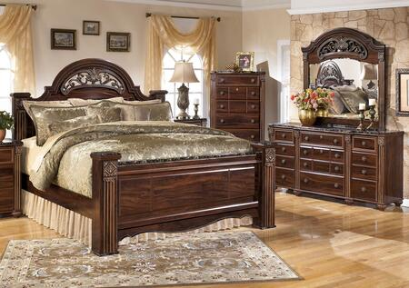 Milo Italia BR517QPSBDM Spence Queen Bedroom Sets
