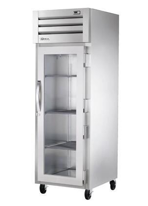 True STG1F-1 Spec Series Reach-In Freezer with 31 Cu. Ft. Capacity, LED Lighting, and Swing-Door