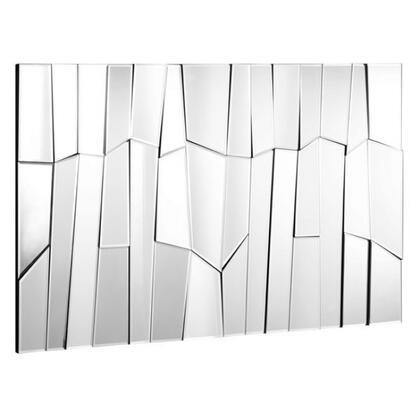 Zuo 850002 Glacier Accents Series Rectangular Both Decorative Mirror