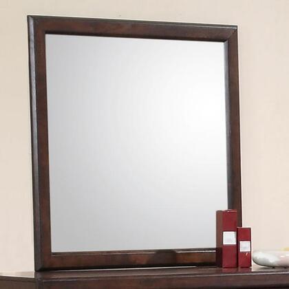 Coaster 400514 Jerico Series Square Both Dresser Mirror