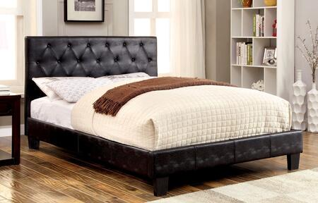 Furniture of America CM7795BKCKBED Kodell Series  California King Size Panel Bed